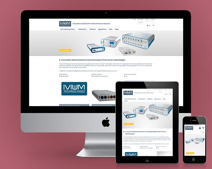 Ivium website
